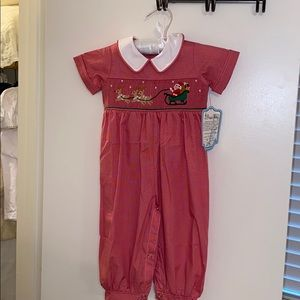 NWT Boys Smocked Longall
